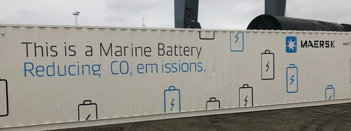 Maersk Pilot Next-Gen Green TEU Vessel Battery