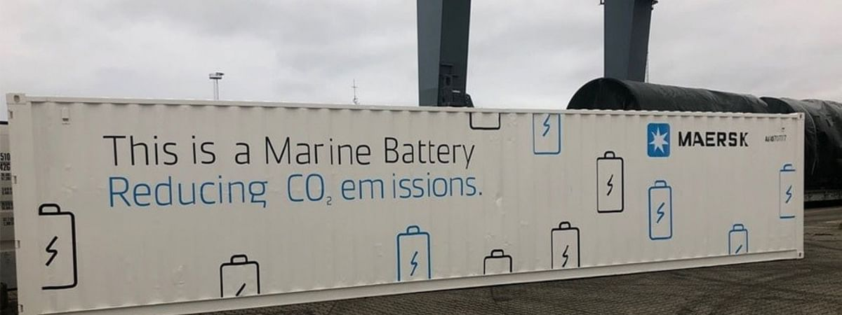 Maersk to Trial Onboard Battery Power