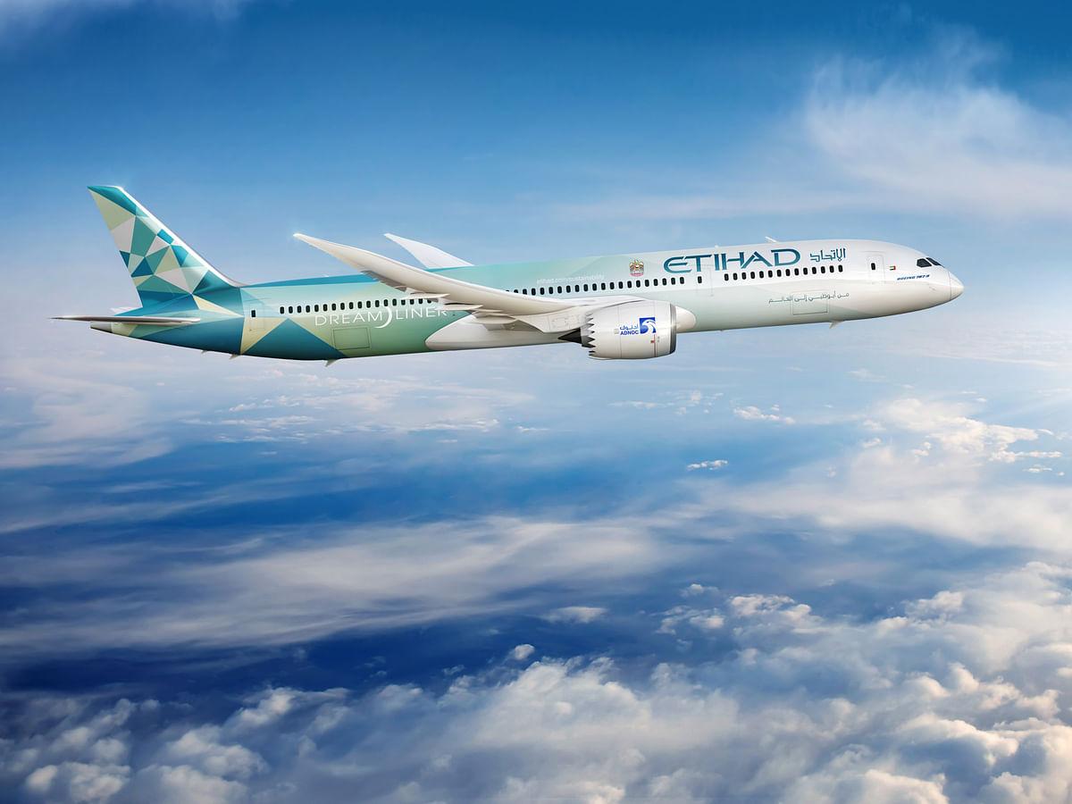 Etihad and Boeing Unveil the New 'Etihad Greenliner' Plane