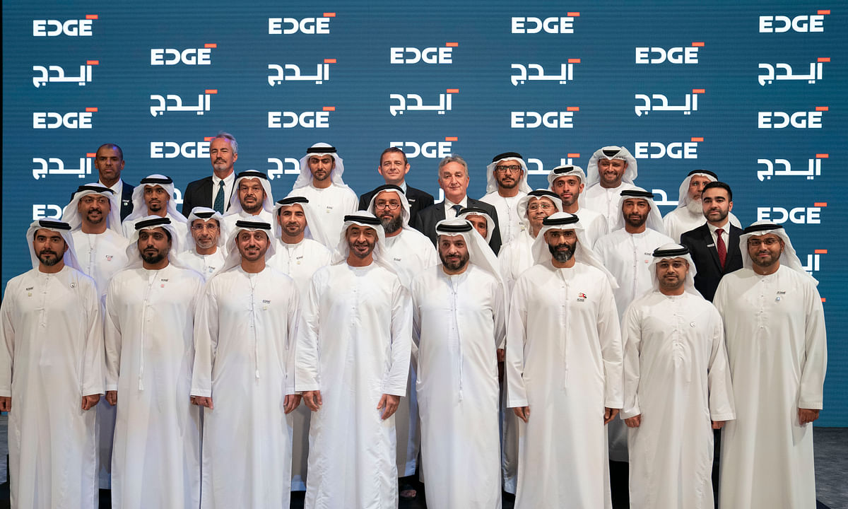 Mohamed bin Zayed Inaugurates EDGE
