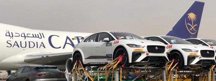 Saudia Cargo Transports Formula-E Cars from Europe to Kingdom