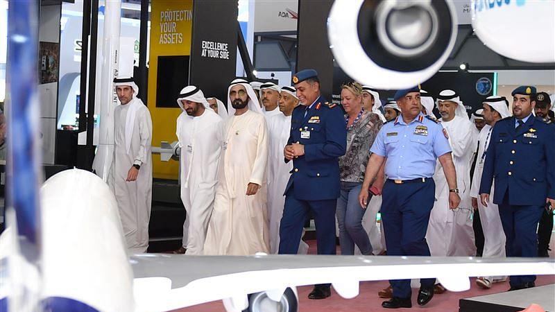 Mohammed bin Rashid Inspects Preparations for Dubai Airshow 2019