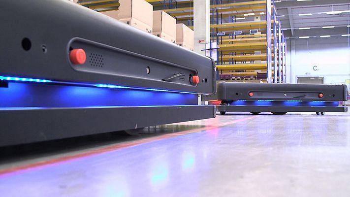 DB Schenker Deploys Autonomous Robots with AI-Powered Vision