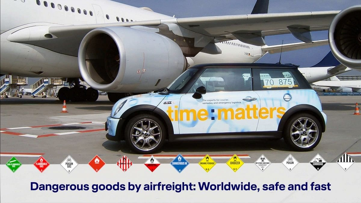 time:matters Begins Urgent Air Freight Service for Dangerous Goods