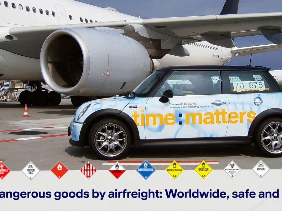 time:matters Begins Urgent Air Freight Service for Dangerous Goods