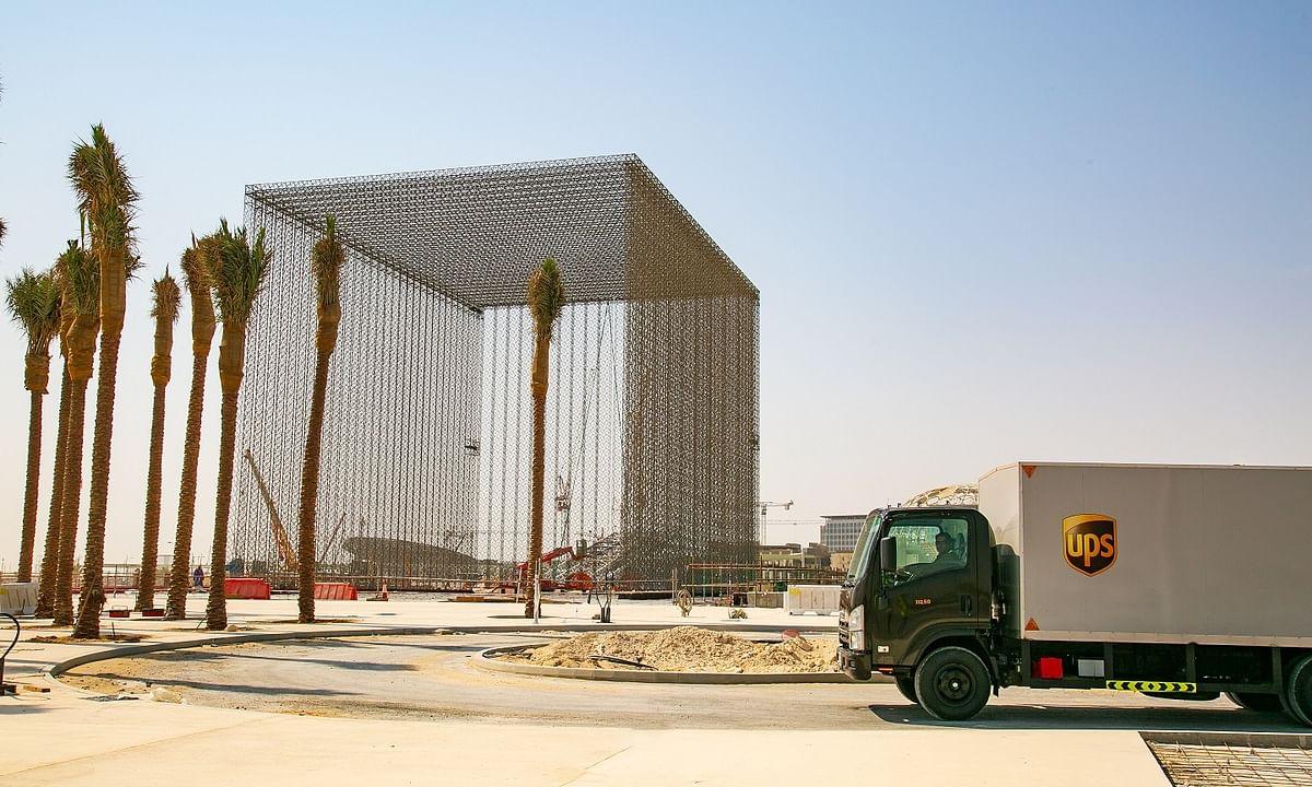 UPS Delivers Three Mega Portals for Expo 2020 Dubai