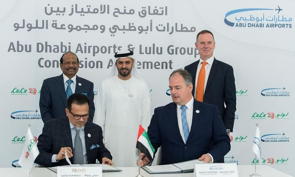 Abu Dhabi Airports Awards Lulu Group Midfield Terminal Retail Contract