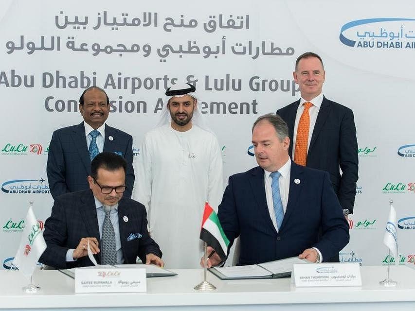Abu Dhabi Airports Awards Lulu Group Midfield Terminal Retail Contract