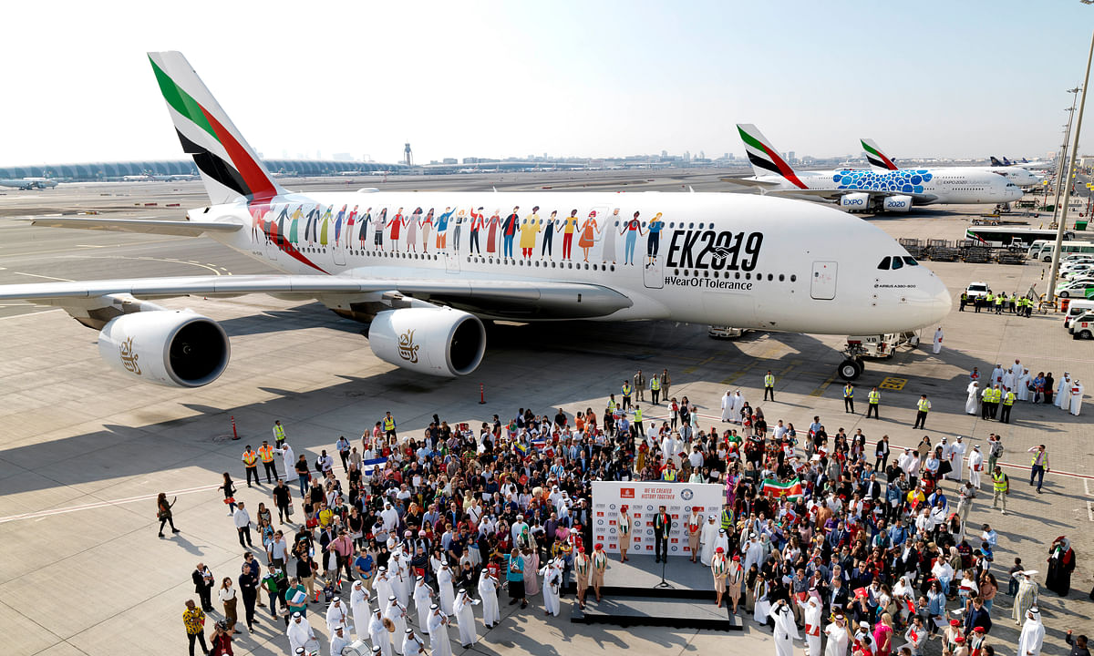 Emirates Makes History on EK 2019