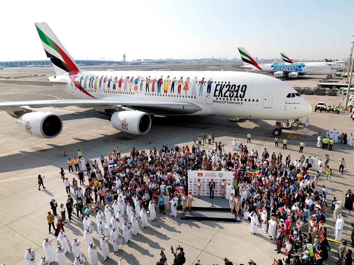 Emirates Makes History on EK 2019
