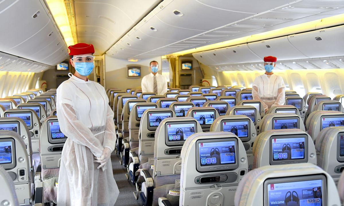 Emirates Steps Up Safety Measures at the Airports and On Board
