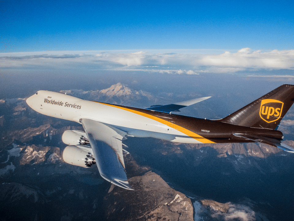 UPS Adds 200+ Flights in April to Support Project Airbridge