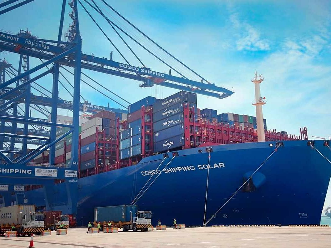 Khalifa Port's CSP Abu Dhabi Terminal Achieves Key Milestones