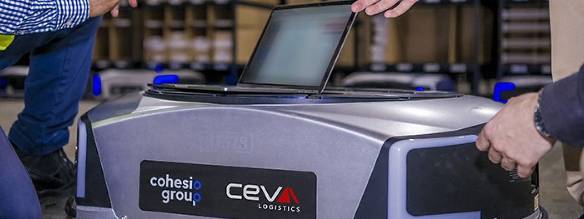 CEVA Deploys Automated Mobile Robots at Melbourne Warehouse