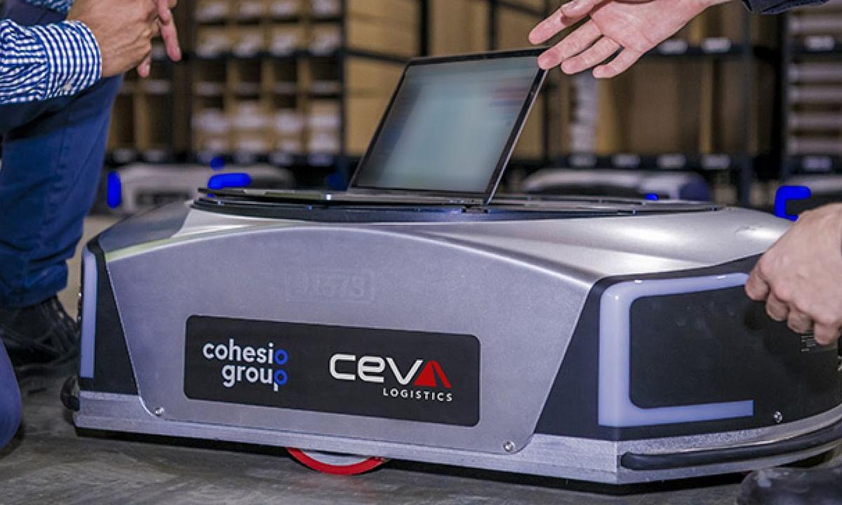 CEVA Deploys Automated Mobile Robots at Melbourne Warehouse