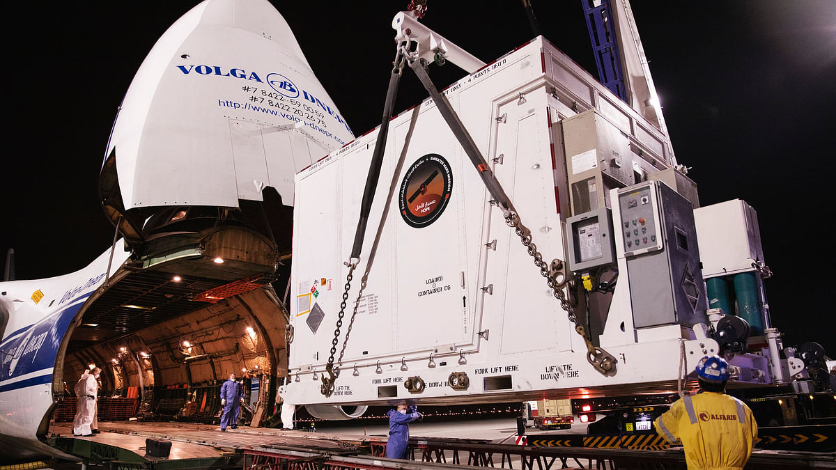 Emirates Mars Mission: Hope Probe Awaits Launch from Japan