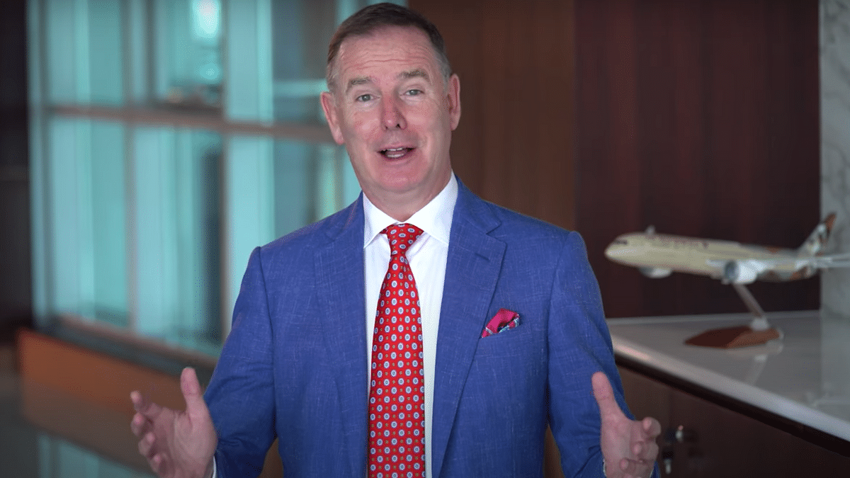 Watch: ETIHAD CEO Outlines Covid Strategy