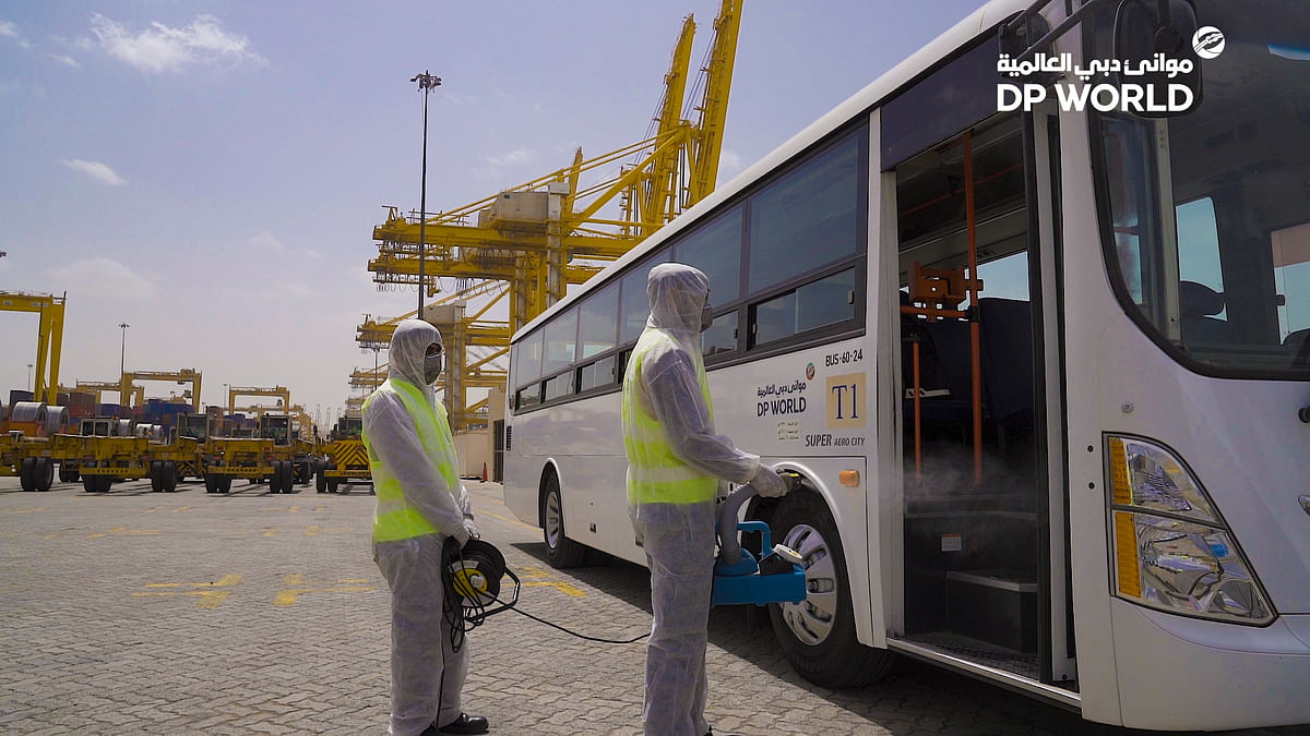 DP World Implements Plans to Ensure Safety of People and Enable Trade