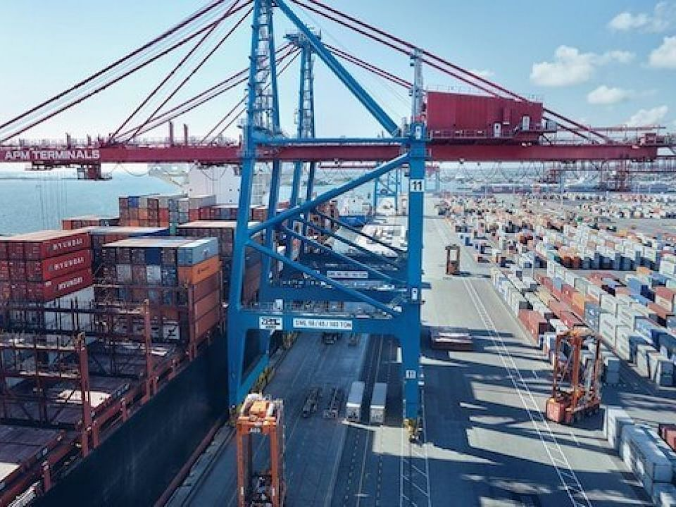 Gothenburg Only Major European Port to See Rise in Container Traffic