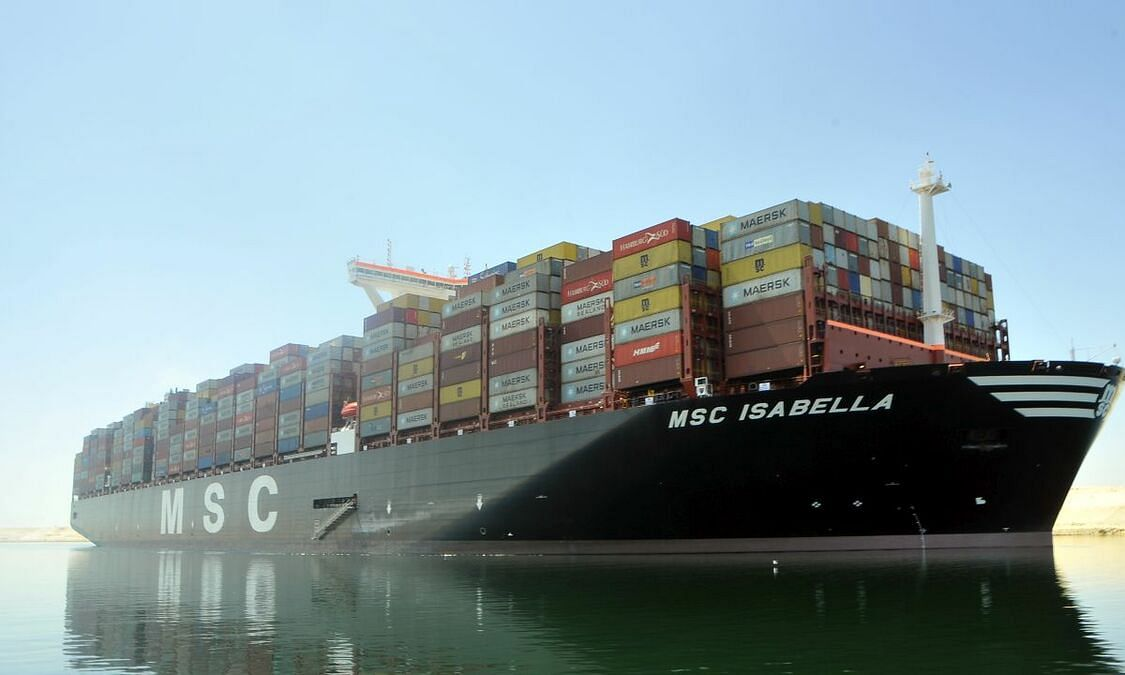 Salalah Sets New Record for Container Vessel Size Handled