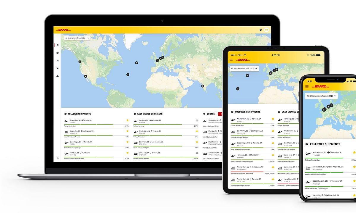 myDHLi: A One-Stop Customer Portal for Digital Logistics