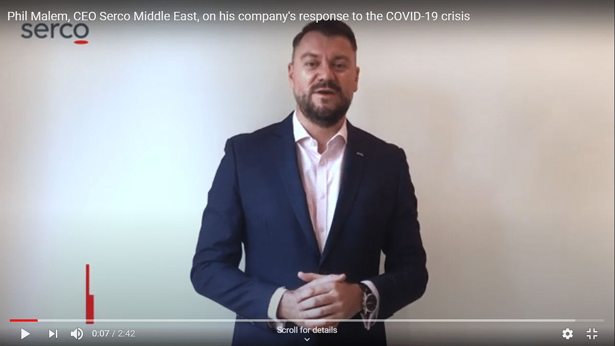 Watch: How Serco Middle East is Dealing with the COVID-19 Challenge