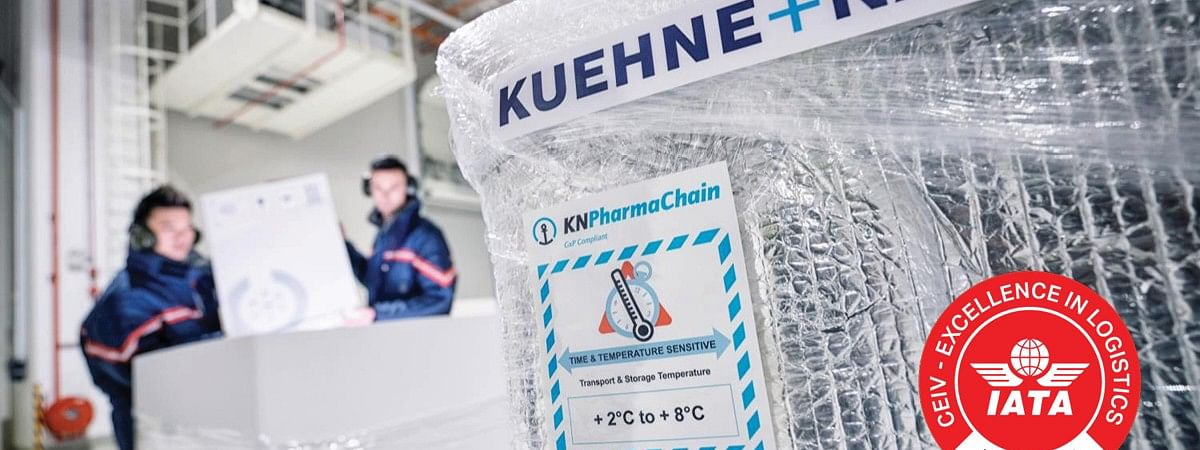 Kuehne + Nagel Awarded IATA CEIV Certification for Entire PharmaChain
