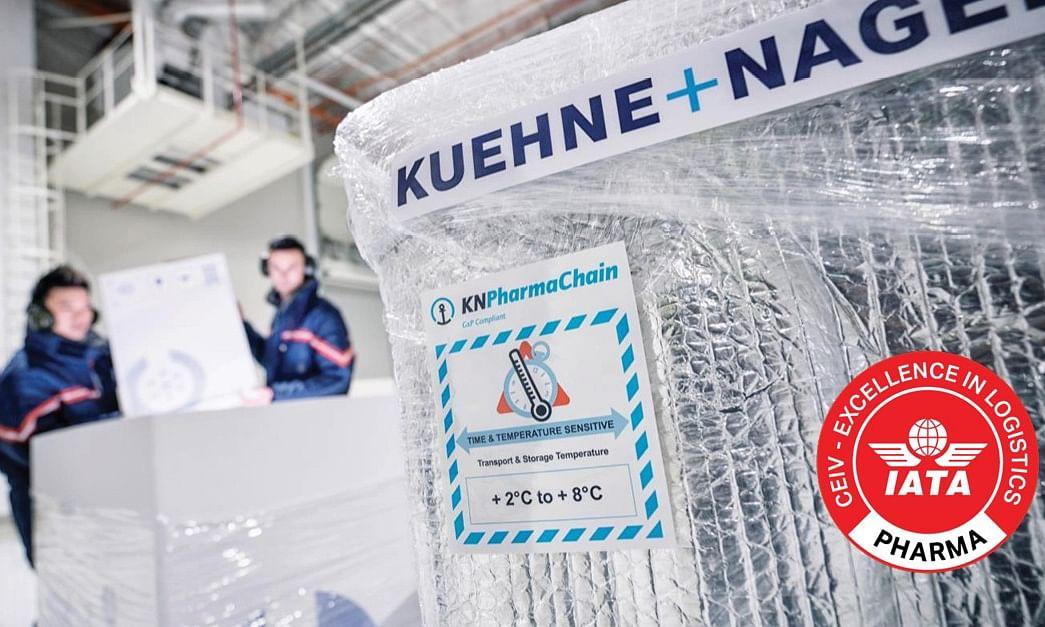 Kuehne + Nagel Awarded IATA CEIV Certification for Entire PharmaChain