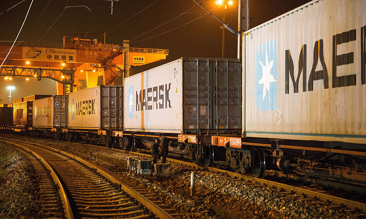 Maersk Launches New China-Turkey Rail Service