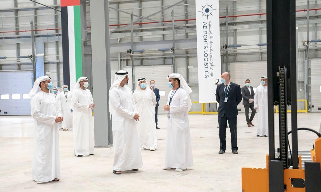 Watch: HH Sheikh Khalid Launches Advanced Trade & Logistics Platform
