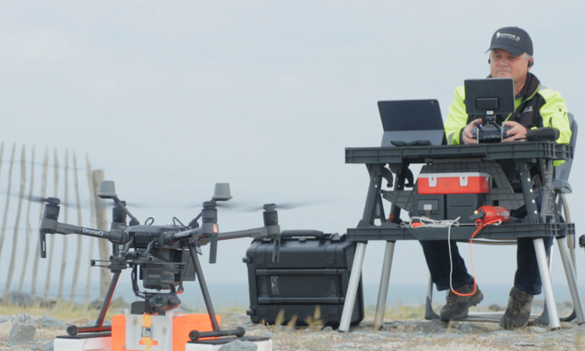 Watch: Port of Rotterdam Makes its First Shore-to-Ship Drone Delivery