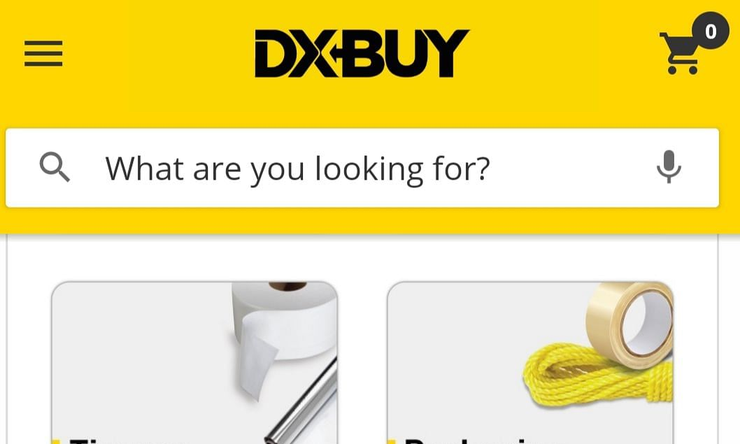 DXBUY: UAE's First B2B e-Commerce App