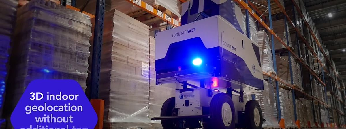 Meet 'GEODIS Countbot': An Innovative Warehouse-Inventory Solution