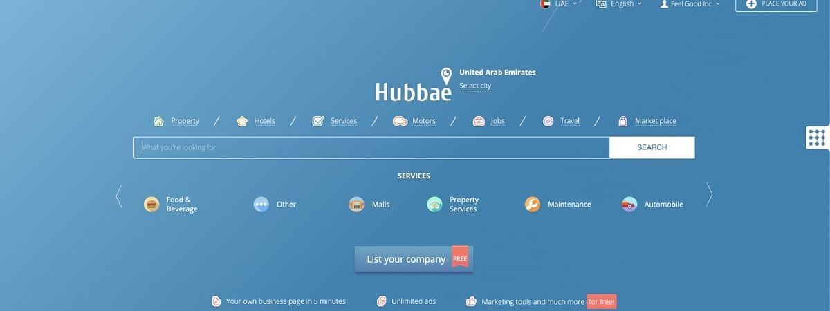 Made in UAE 'Hubb' Business Search Engine Launches Globally