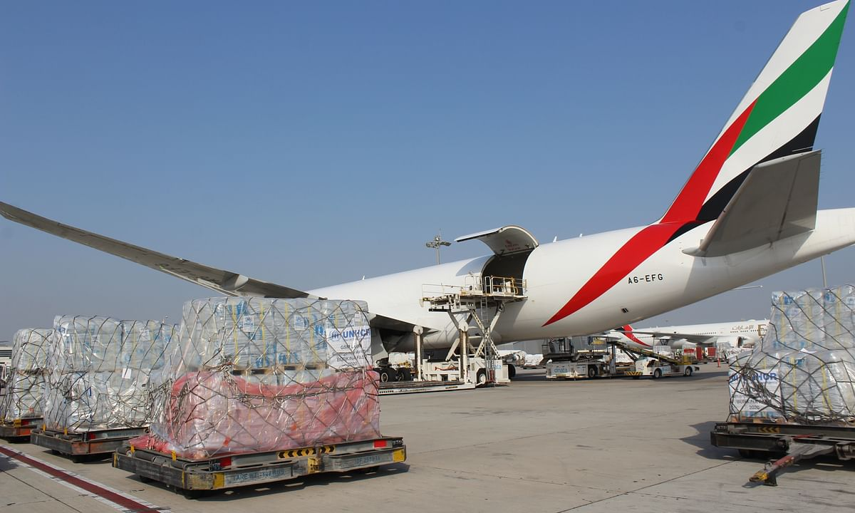 Emirates SkyCargo Delivers Aid Materials to Burkina Faso