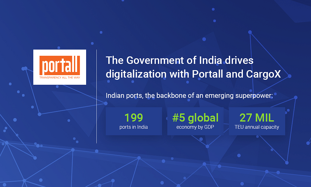 CargoX and Portall Work Together to Digitalize India's Port Logistics