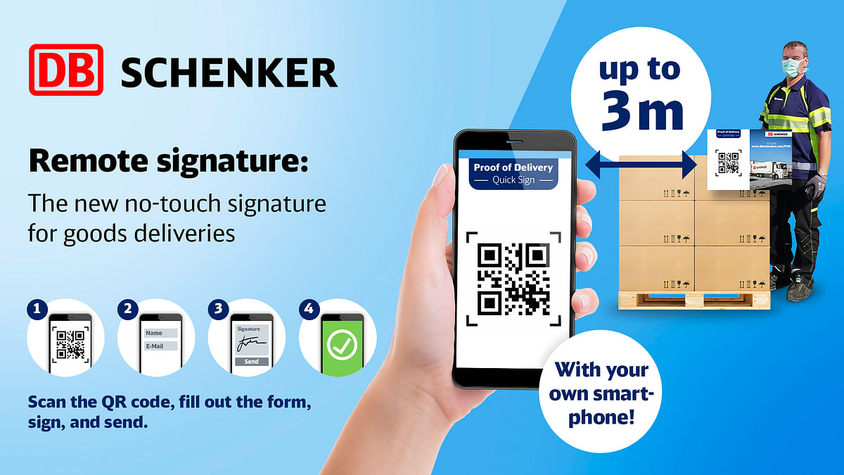 DB Schenker Develops Contactless Delivery System