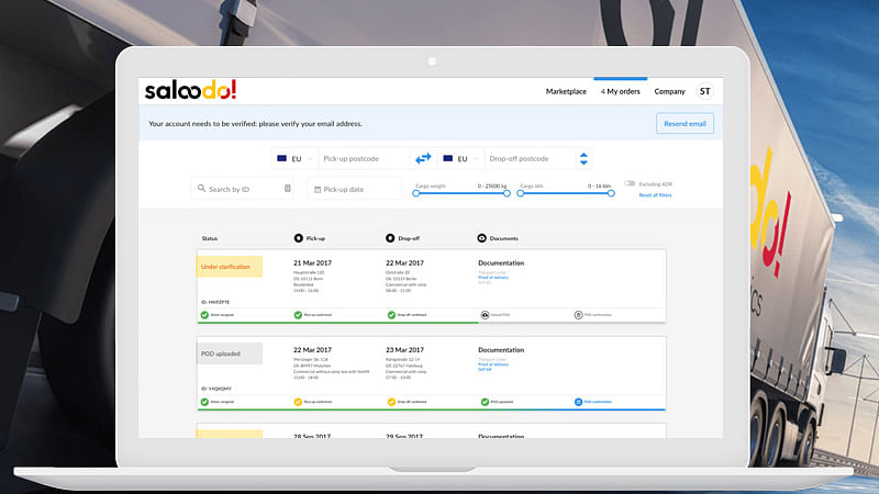 Saloodo! Platform Gets New Interface and Enhanced Features