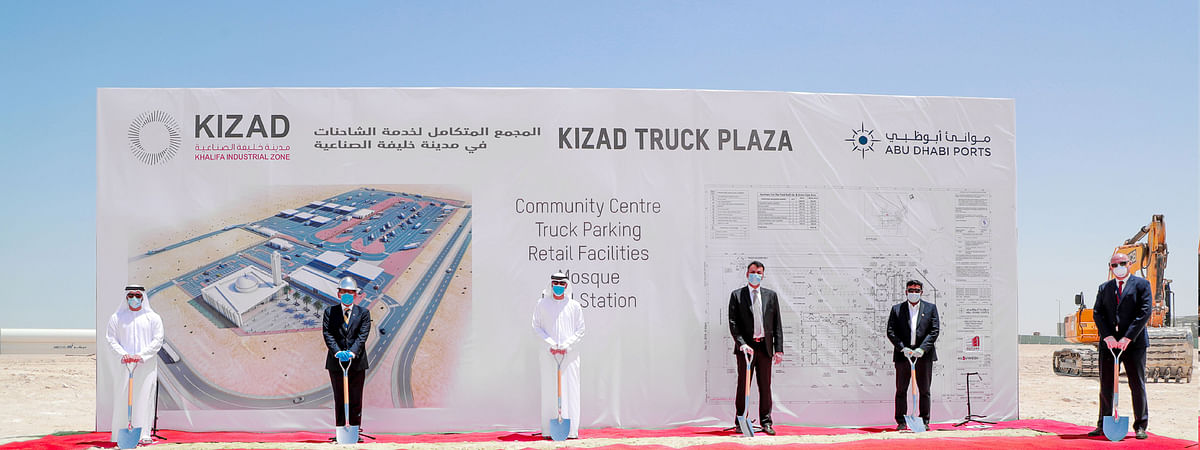 KIZAD Breaks Ground on Largest Rest, Refuelling Facility in Region