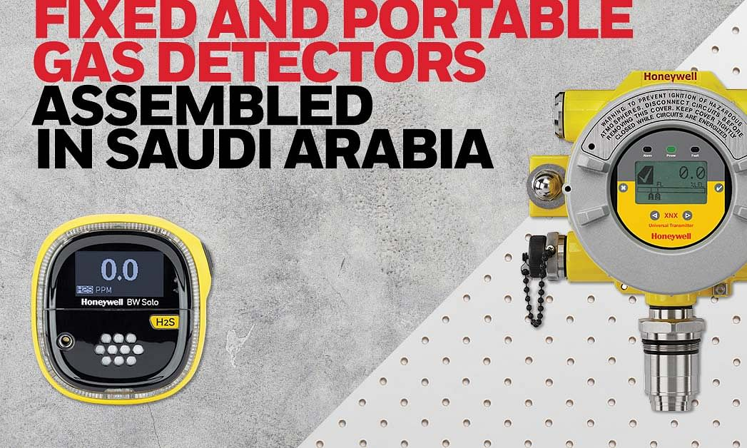 Honeywell to Open Gas Detector Factory in Saudi Arabia