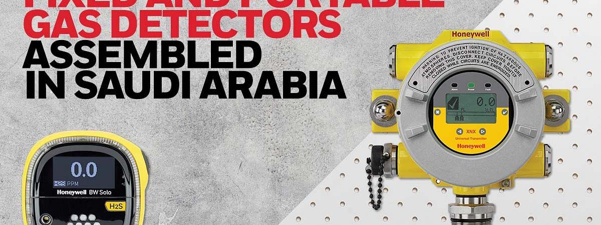 Honeywell to Open Gas Detector Factory in Saudi Arabia