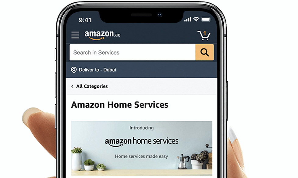 Amazon Launches Home Services in the UAE