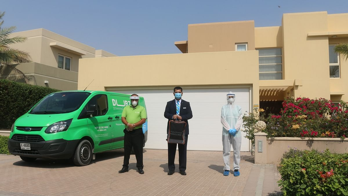 dnata's DUBZ Launches Home COVID-19 Testing before Check-in