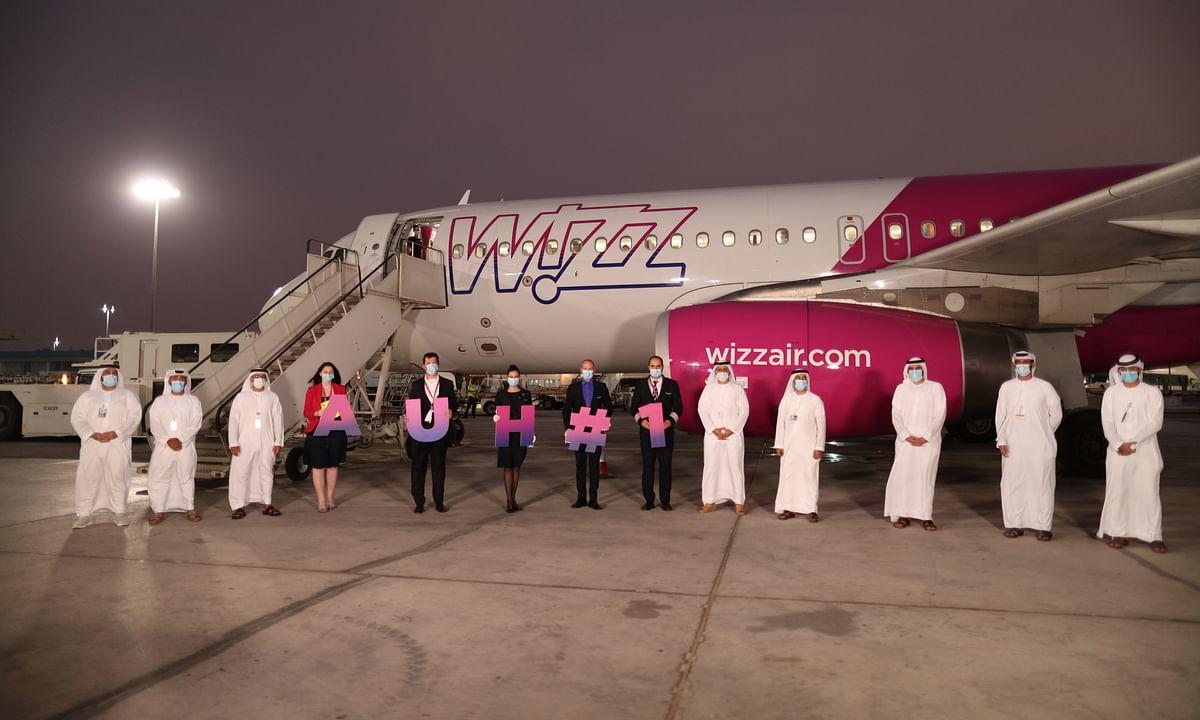 Watch: First Wizz Air Flight Lands at Abu Dhabi International Airport