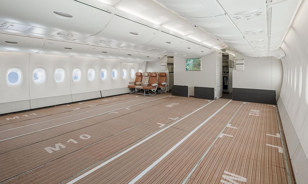 Watch: Inside a Cargo-Adapted Airbus A380 SuperJumbo