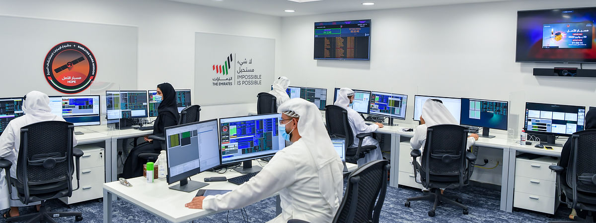 UAE Space Agency and MBRSC Receive First Transmission from Hope Probe