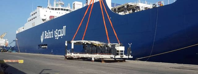 Bahri Logistics Delivers Mobile Stations for Saudi Electricity Company
