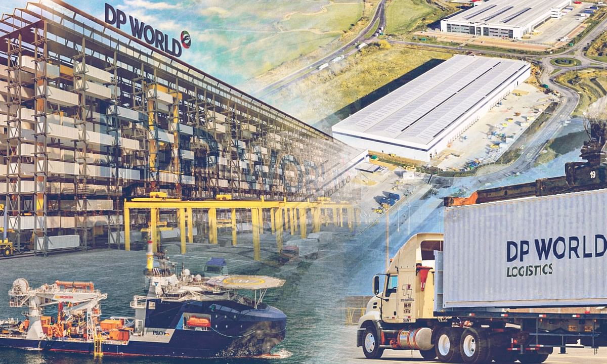 DP World Volumes Down 3.9% in H1 2020