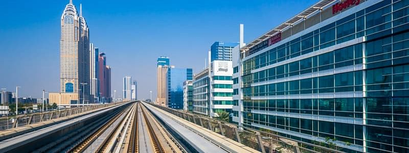 Dubai Metro Red Line Stations Upgrade 40% complete
