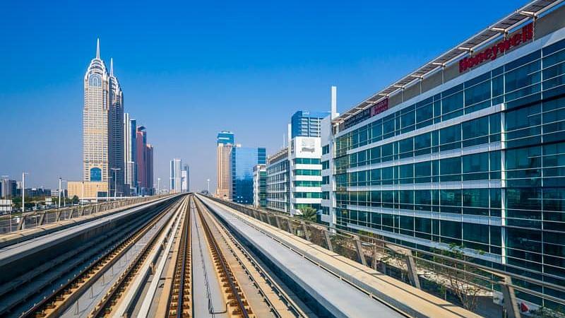 Dubai Metro Red Line Stations Upgrade 40% complete